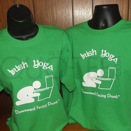 St Paddy's St Patricks Irish Yoga T-shirt