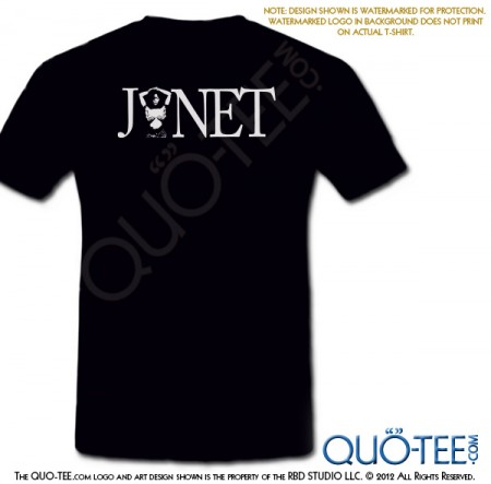 Janet 20th AnniversarTee