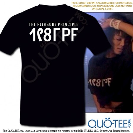 Janet Pleasure Your Principle Tee